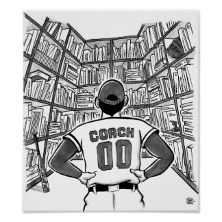Coach's library poster