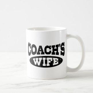 Coach's Wife Classic White Coffee Mug