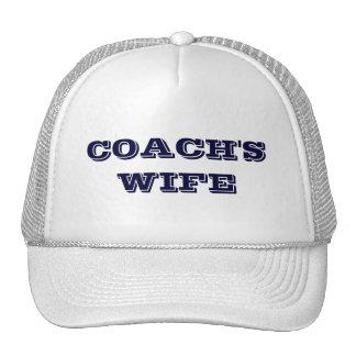 COACH'S WIFE TRUCKER HAT