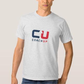 CoachUp Grey T-Shirt by American Apparel