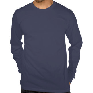 CoachUp Navy LS T-Shirt by American Apparel