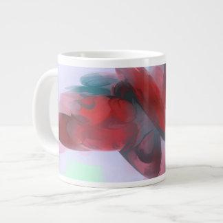 Coagulation Pastel Abstract Giant Coffee Mug