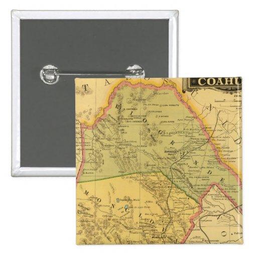 Coahuila Pin Cuadrado