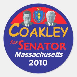 COAKLEY Senate Sticker