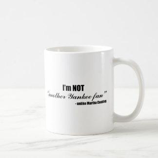 Coakley Yankee Fan Coffee Mug