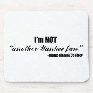 Coakley Yankee Fan Mouse Pad