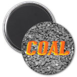 Coal 2 Inch Round Magnet