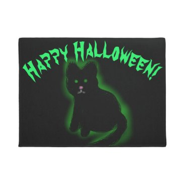 Halloween Themed Coal Beckons Doormat
