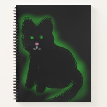 Halloween Themed Coal Beckons Notebook