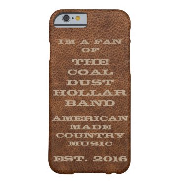 Coal Dust Hollar Band IPhone Case