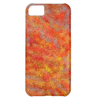 Coal Embers Cover For iPhone 5C