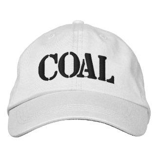 Coal Embroidered Baseball Cap