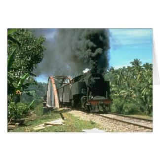 Coal empties for Padang Panjang are hauled by 2-6- Card