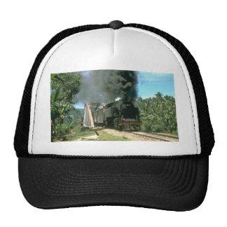 Coal empties for Padang Panjang are hauled by 2-6- Mesh Hats