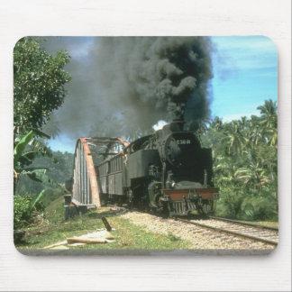 Coal empties for Padang Panjang are hauled by 2-6- Mousepads