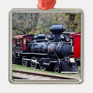 Coal Engine Train Christmas Ornaments