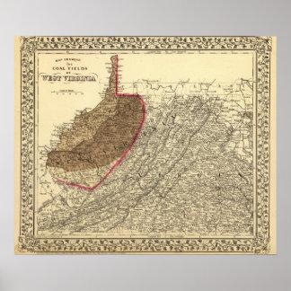 Coal fields in West Virginia Posters