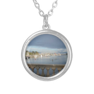 Coal Harbour, BC Silver Plated Necklace