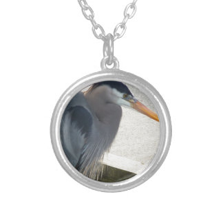 Coal Harbour Heron Silver Plated Necklace