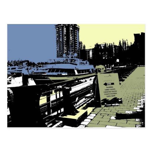 Coal Harbour Marina Postcard