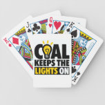 COAL KEEPS THE LIGHTS ON BICYCLE PLAYING CARDS