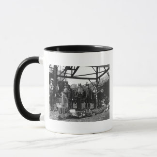 Coal Mine Life Savers, 1910 Mug