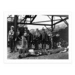 Coal Mine Life Savers, 1910 Post Card