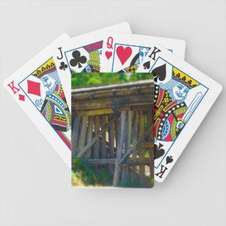 Coal Mine Road Train Bridge Kansas City Bicycle Playing Cards