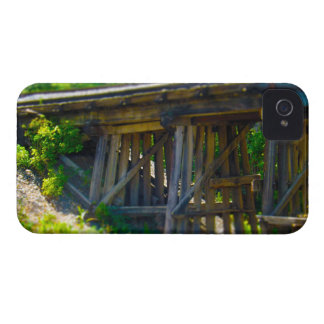 Coal Mine Road Train Bridge Kansas City iPhone 4 Case