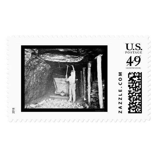 Coal Miner 1910 Postage
