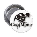 coal miner 2 inch round button