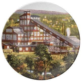 Coal Miner Art Plate