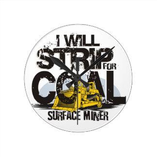 coal miner clock