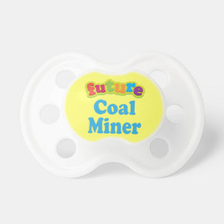 Coal Miner (Future) Pacifier Gift BooginHead Pacifier