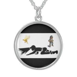 Coal Miner Neckwear Sterling Silver Necklace