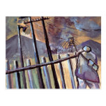 COAL MINER OFF TO WORK POST CARDS