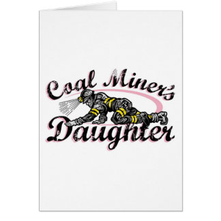 coal miner s daughter greeting cards