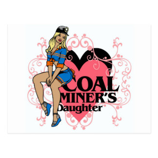 COAL MINER S DAUGHTER POST CARDS