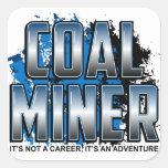 COAL MINER STICKERS