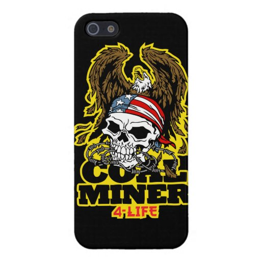 coal miner tattoo cover for iphone 5 zazzle. Black Bedroom Furniture Sets. Home Design Ideas