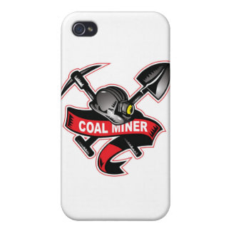 COAL MINER tattoo.jpg iPhone 4/4S Cover
