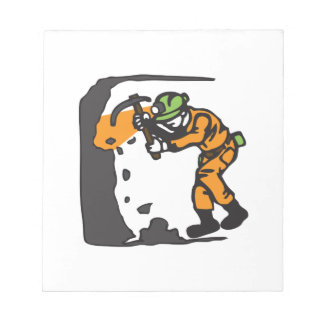 COAL MINER WORKING NOTEPADS