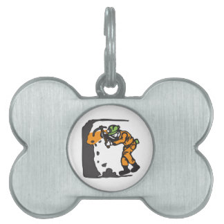 COAL MINER WORKING PET NAME TAGS