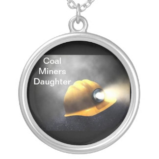 Coal Miners Daughter Silver Plated Necklace