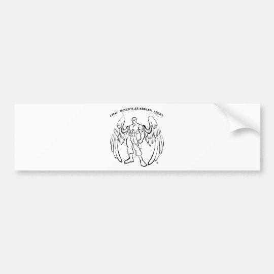 Coal Miner's Guardian Angel Bumper Sticker