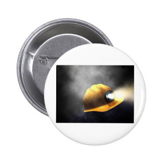 coal miners hat 2 inch round button