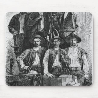 Coal Miners of Le Creusot during the Second Mouse Pad
