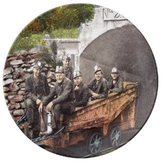 Coal Miners Plate