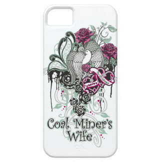 COAL MINER'S WIFE iPhone SE/5/5s CASE