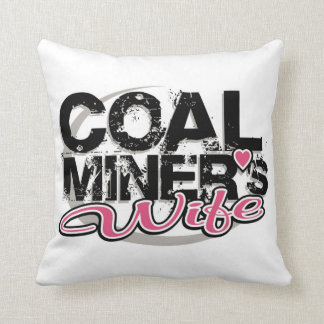 coal miner's wife pillow